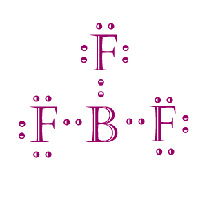 BF3 dot structure