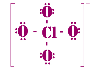 Clo4 lewis structure